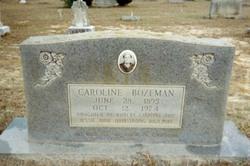 Caroline Bozeman