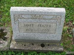 Janet <I>Watson</I> Frazier