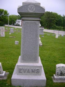 Jane <I>Harris</I> Evans