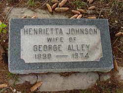 Henrietta <I>Johnson</I> Alley