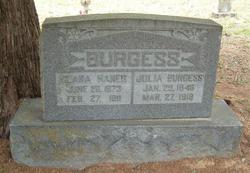 Julia Burgess