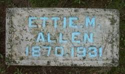 Ettie M. <I>Hutchens</I> Allen