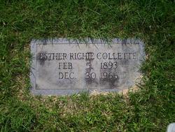 Esther <I>Richie</I> Collette
