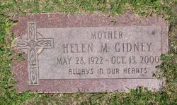 Helen M <I>Nurse</I> Gidney
