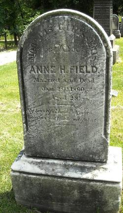 Anne H <I>Tuthill</I> Field