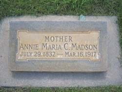Annie Maria <I>Madsen</I> Johnson