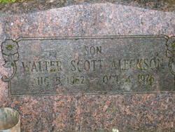 Walter Scott Aleckson