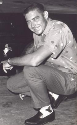 """Edward Glenn """"Fireball"""" Roberts"""