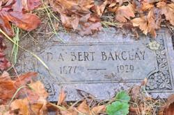 D Albert Barclay