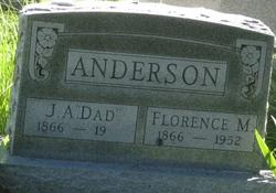 Florence M. <I>Baker</I> Anderson