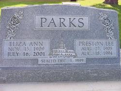 Preston Lee Parks