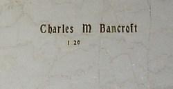 Charles M Bancroft