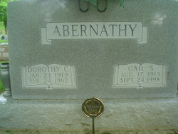 Dorothy <I>Clifton</I> Abernathy