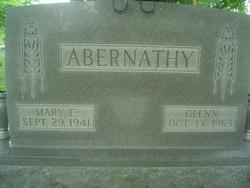 Mary <I>Ertel</I> Abernathy