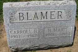 Carroll B Blamer