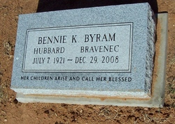 Bennie Katherine <I>Byram</I> Bravenec