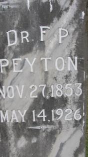 Dr F. P. Peyton