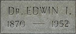 Dr Edwin Irvin Backus