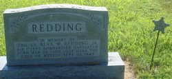 2LT Alva W. Redding, Jr