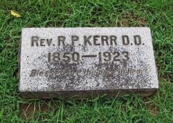 Rev Robert P. Kerr