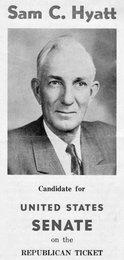 """Samuel Calhoun """"Sam"""" Hyatt"""