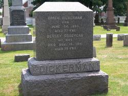 Betsey <I>Goodyear</I> Dickerman