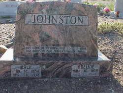 Adeline Patricia <I>Robertson</I> Johnston