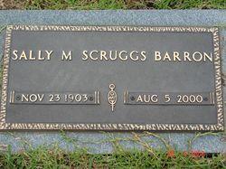 Sally M. <I>Scruggs</I> Barron