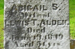 Abigail S Alden