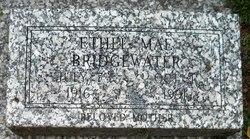 Ethel Mae <I>Kiser</I> Bridgewater