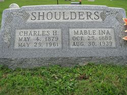 Mable Ina <I>Gee</I> Shoulders