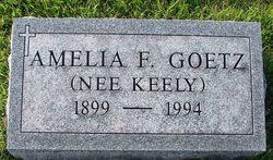 Amelia F <I>Keely</I> Goetz