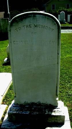 Cornelia <I>Whitney</I> Ashburner