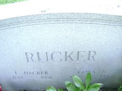 Cora <I>Sexton</I> Rucker