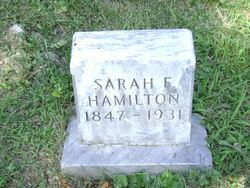 Sarah F Hamilton