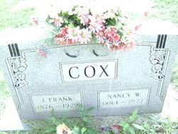 J Frank Cox