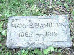 Mary E Hamilton