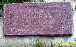 Leeta Elizabeth <I>Ivie</I> Duffy