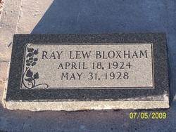 Ray Lew Bloxham