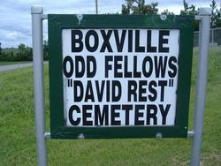 Boxville Odd Fellows David Rest Cemetery