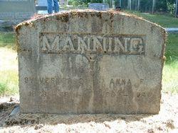 Anna Florence <I>McClard</I> Manning