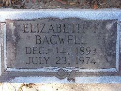 Elizabeth F Bagwell