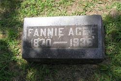 Fannie <I>Maris</I> Agee