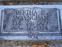 Bertha B. Swayngham