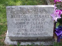 Rebecca G Cleary