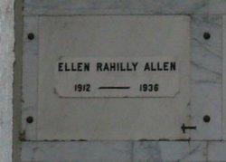 Ellen <I>Rahilly</I> Allen