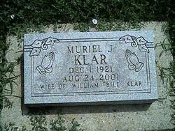 Muriel J Klar