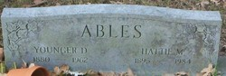 Hattie Mae <I>Clemmons</I> Ables
