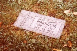 Gene Marion Martinson