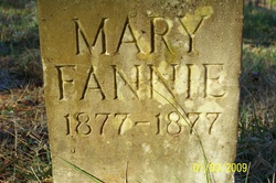 Mary Fanny Wilkerson